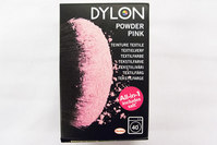 Dylon textile washing machine dye, powder pink