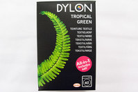 Dylon textile washing machine dye, tropical green