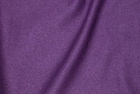 Furniture fabric in speckled dark purple with light back