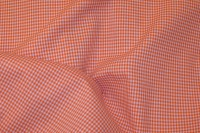 Kitchen 2mm checkers in orange and white