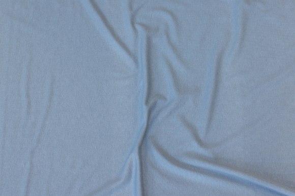 Lightweight viscosejersey in light -blue