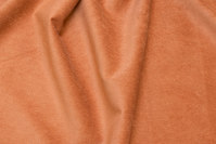 Narrow-rifled polyester pant-corduroy with stretch in light cinnamon-colored