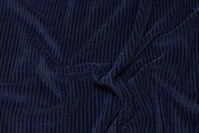 Navy jersey-corduroy