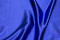 Royal blue stretch-satin