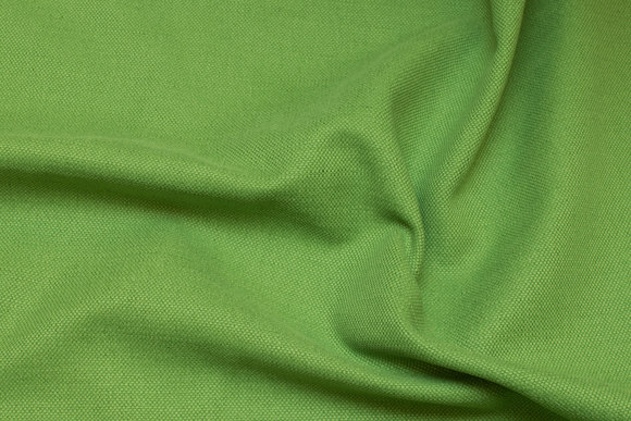 Rugged cotton-canvas in kiwi-green