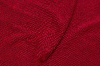 Soft, light knit in winter-red