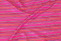 Soft, lightweight cotton-flanel in pink stripes