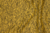 Soft speckled winter-knit in brass-yellow