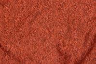 Soft speckled winter-knit in burned orange