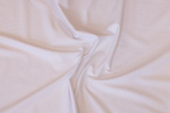 White cotton-jersey