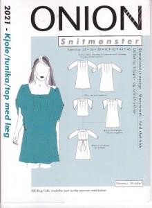 Onion pattern: Dress, tunika or top with pleats