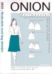 Skirts with pleats and details
