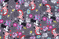 Grey cotton-jersey with minnie mouse
