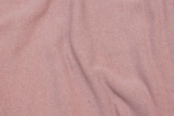 Wool-knit in dusty old rose