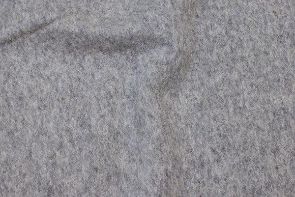 Felt wool in light grey