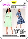 Dress, Bell-shaped Skirt, Elastic Waist