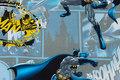 Cotton-canvas with beautiful Batman digital-print