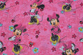 Pink, firm cotton with Minnie Mouse