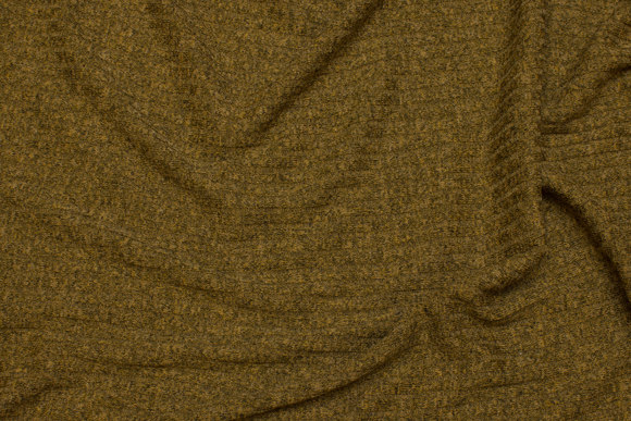 Lightweight knit in speckled brass-colored