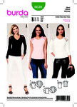 Burda 6630. Top, Raglan Sleeves.