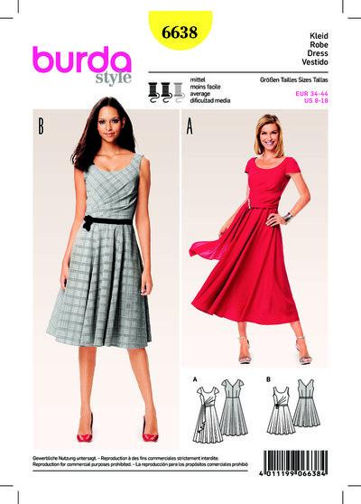 Cocktail Dress, Evening Dress, Full Skirt, Back Décolleté