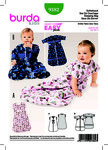 Burda 9382. Baby Sleeping Bag.