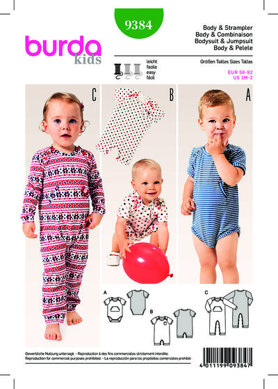 Baby Bodysuit, Rompers, Fastened Between the Legs