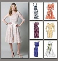 Petite Dress. Vogue 8766.