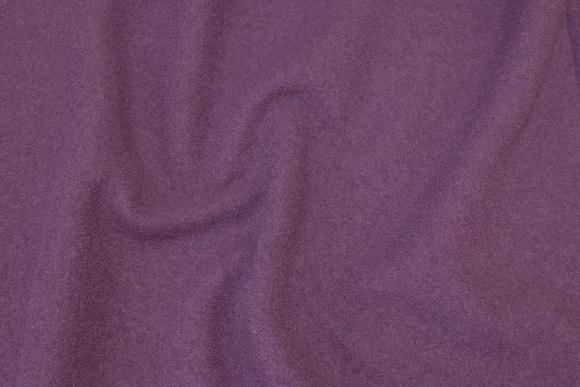 Beautiful dusty-purple bouclé in 100% pure wool