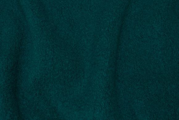Bottle-green felt wool