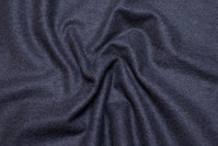 Charcoal melton in beautiful rugged quality for coats