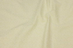 Creme-colored patchwork cotton with mini branch-pattern