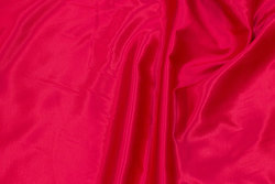 Dark pink satin with softened back, silk-flannel-alike, for pyjamas etc.