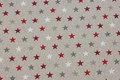 Stars are ca. 1 cm.