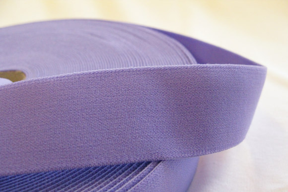 Elastic, purple 3 cm wide