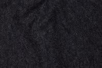 Felt wool in charcoal