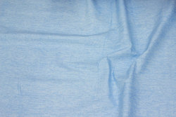 Firm cotton in flamed light blue
