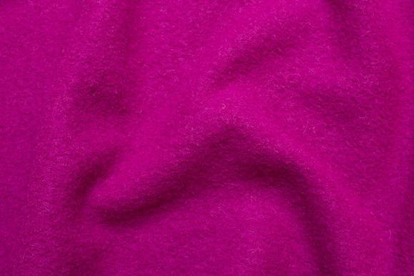 Fuchsia wool bouclé