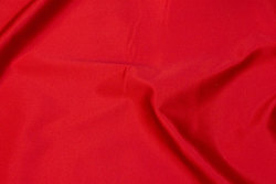 Medium-thickness, red satin with stretch