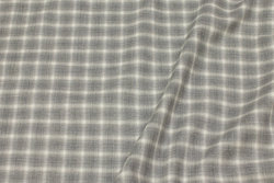 Thin shirt-flannel with light grey checks