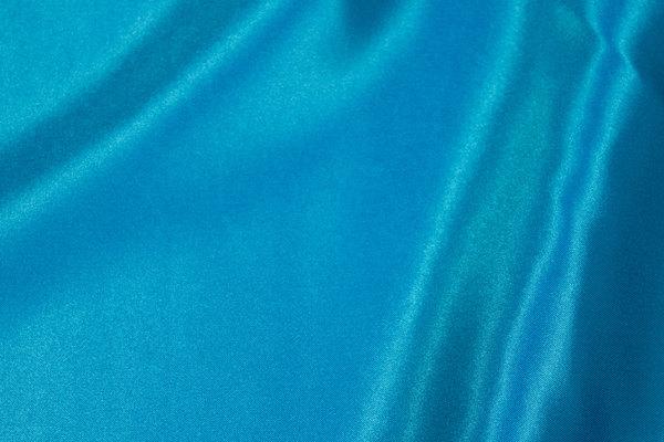 Turqoise polyester satin