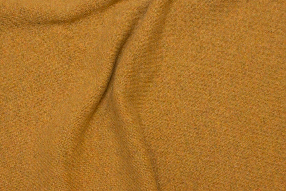 Wool-knit in brass-colored