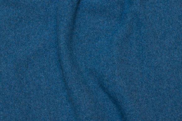 Wool-knit in dark dove-blue