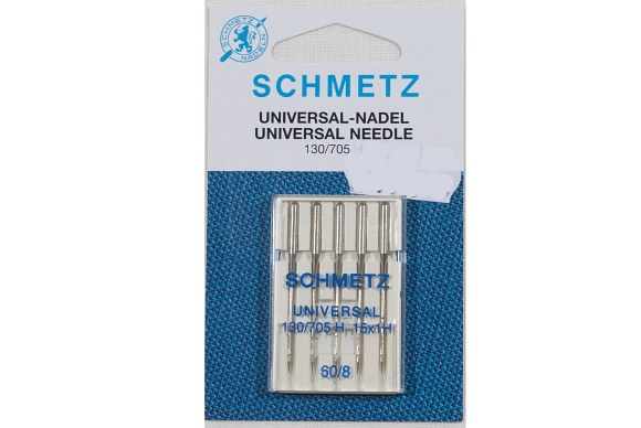 Sewing machine needles, fine, 130/705