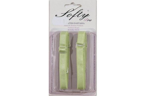 Bra-straps in lime