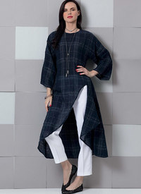 Vogue 9305. Tunic and Pants.