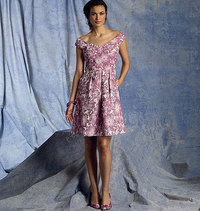 Vogue pattern: Dress, Kay Unger