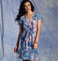 Vogue 1395. Dress, Rebecca Taylor.
