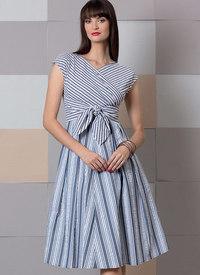 Dress, Vogue Easy Options. Vogue 9293.