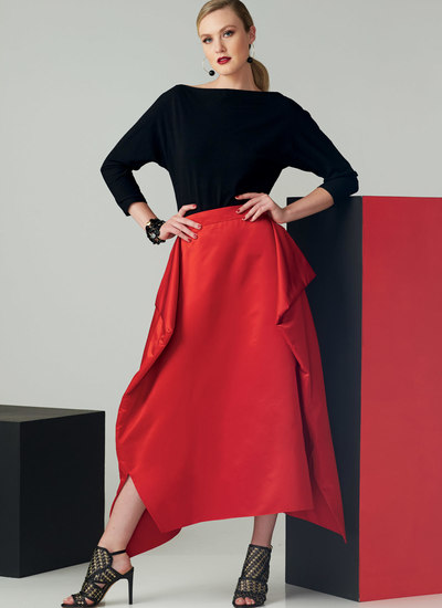 Top and Draped Skirt, Paco Peralta
